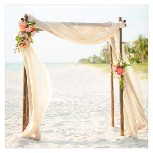 camino de mesa decorar altar de boda