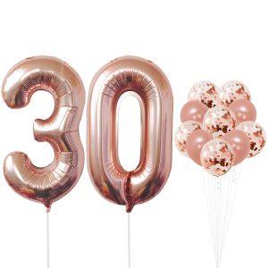 globos 30 años
