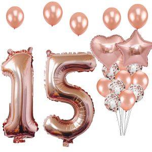 globos mis 15 años