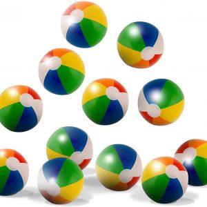 mini pelotas de playa para fiestas