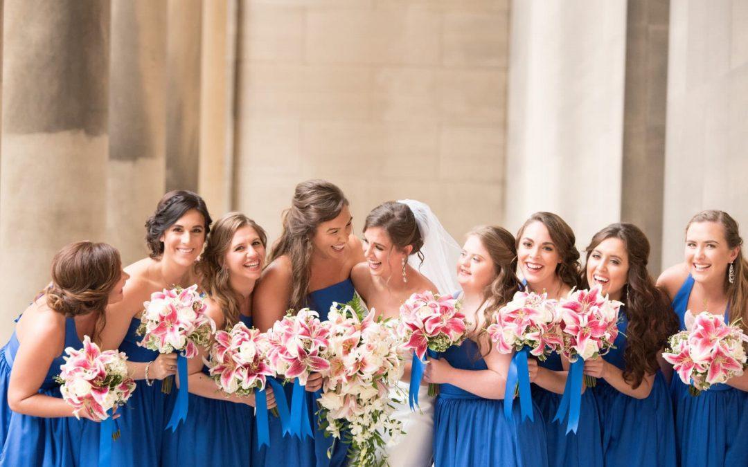 ▷ 15 deberes de dama de honor antes y durante la boda